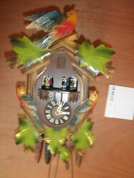 German Black Forest made SEE VIDEO musical 1 day Cuckoo Clock CK2533