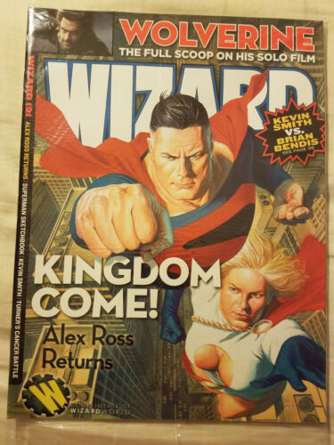 Wizard Magazine 191 Sept 2007 Kingdom Come SEALED Wizard Convention Edition Ross