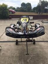Go Kart Arrow Red Chaise Blue Printed Clubman Motor Aberglasslyn Maitland Area Preview