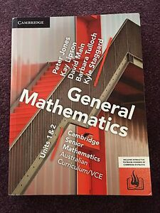 General Maths textbook Roxburgh Park Hume Area Preview