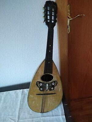 altes Musikinstrument;Laute; Holzinstrument