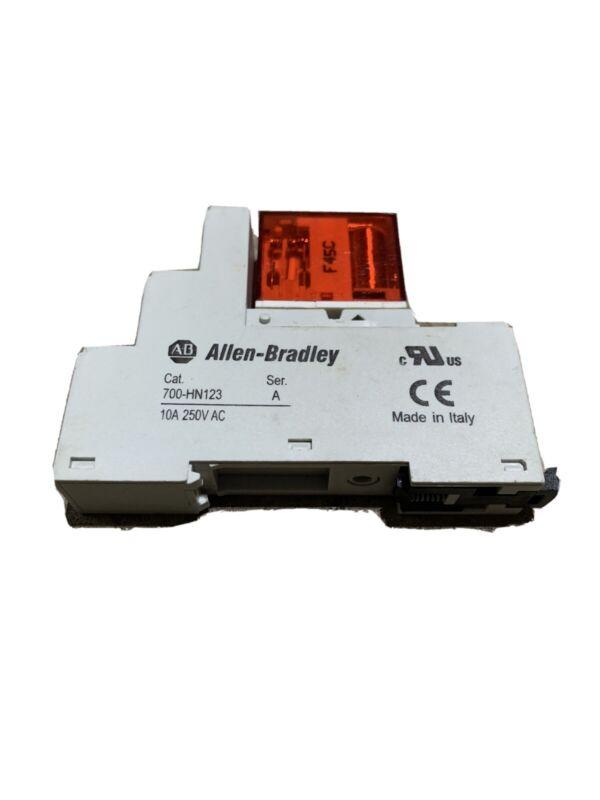 New Allen-Bradley 24VDC Safety Relay 700-HN123 + 700-HPS2Z24