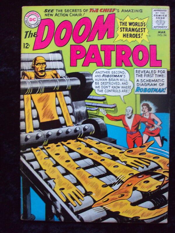 DOOM PATROL #94  DC COMICS SILVER AGE