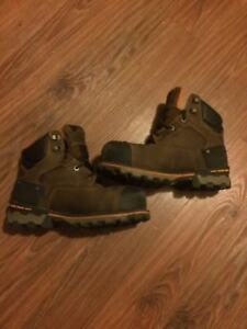 Men's boondock timberland work boots 9.5 W