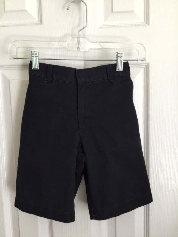 Dennis Uniform Navy Blue Uniform Shorts Size 6 Regular