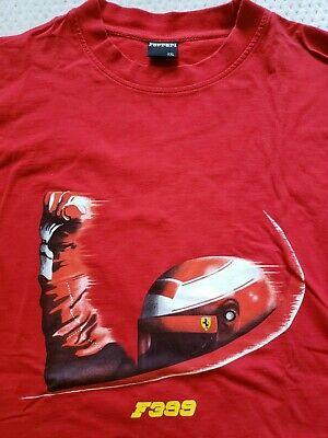RARE Vintage Ferrari Formula 1 F399 racing tee, Red XXL