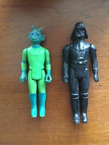 Darth Vader and Greedo collectible figured