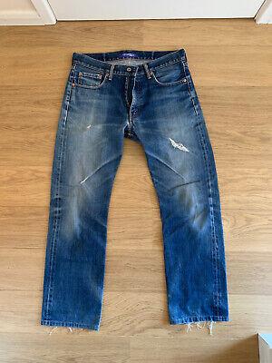 Junya watanabe Jeans size L Large Ad2003 Denim Printed
