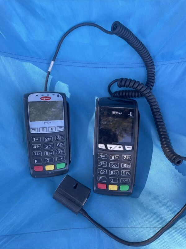 Ingenico iPP320 And iCT250 card reader NO AC ADAPTER