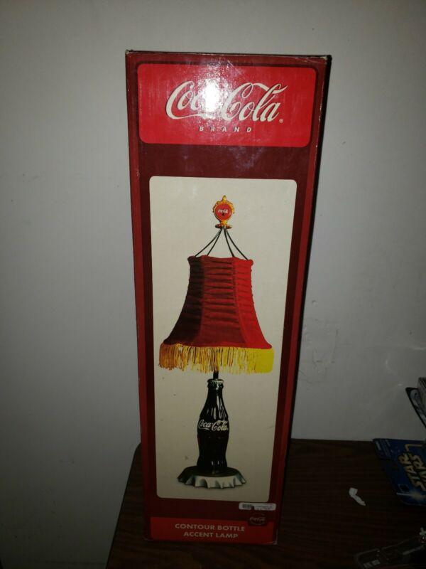 Coca Cola Accent Contour Bottle Lamp BRAND NEW