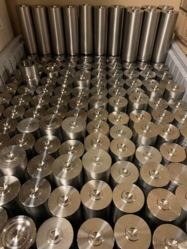 """Grade 5 (6al4V) Titanium Drop Bars 1.5"""" x 4"""""""