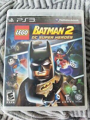 LEGO Batman 2: DC Super Heroes PS3 Video Game