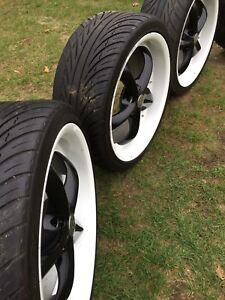 "Selling 20"" rims on tires"