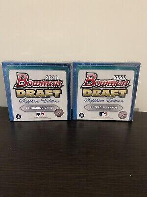 2020 Topps Bowman Draft Sapphire Edition MLB - IN HAND - 2 SEALED BOXES