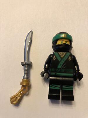 Lego Movie Minifigure Lloyd Ninjago w/ sword Green LEGO collector Complete njo31