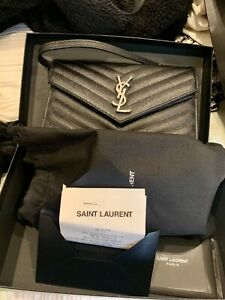 YSL Envelope on chain wallet Kingsgrove Canterbury Area Preview