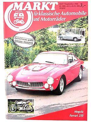 Markt für klassische Automobile und Motorräder 9 1986 Ferrari 250 Megola Mondial