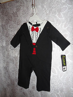 TUXEDO HALLOWEEN COSTUME-SIZE 3/6 MONTHS-NEW WITH TAGS](Size 3-6 Month Halloween Costumes)