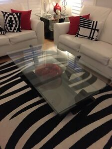 Coffee table with side tables 3 piece