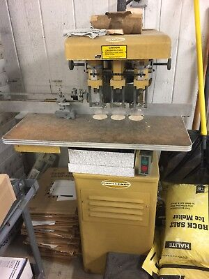 Challenge Eh-3a Heavy Duty Hydraulic Three 3 Hole Paper Drill Multi-spindle