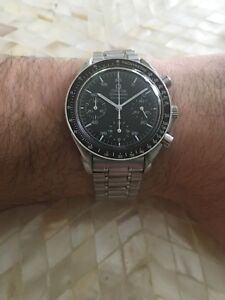 Omega Speedmaster Reduced Chronograph Automatic Swiss Watch 3510.50 **No Reserve