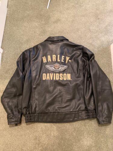 HARLEY DAVIDSON 100th Anniversary Leather Jacket RA0103819 Men