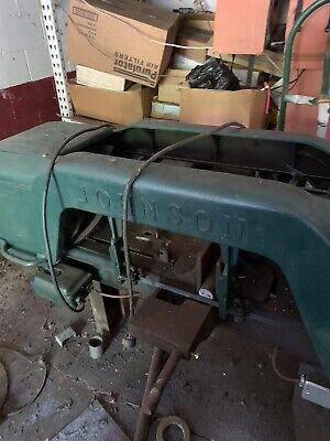 Johnson 10 Horizontal Band Saw - Very Good Condition - Local Pick-up