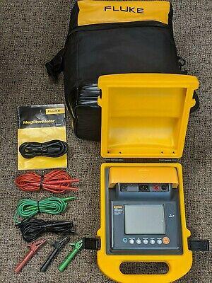 Fluke 1550 Megohmmeter Megger High Voltage Insulation Tester Meter Excellent