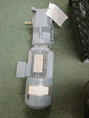 Sew-eurodrive Gear Motor K37 Dt80n4thes1r .75kw 1700-214rpms 3ph Used