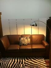 Lounge/ Sofa: Leather, Vintage style, 3 seater Floreat Cambridge Area Preview