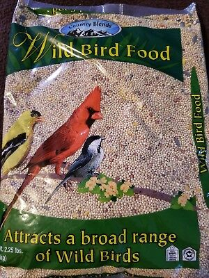 Country Blends Wild Bird Food 2.25 lbs New In Package