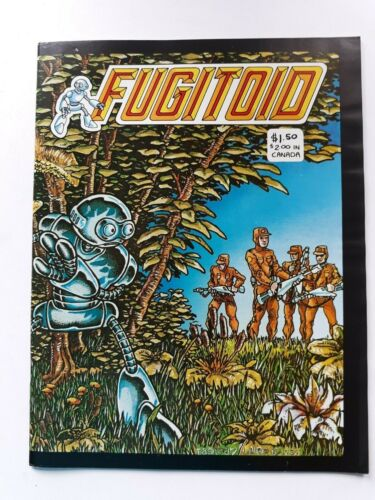 Peter Laird & Kevin Eastman comic Fugitoid # 1...TMNT spinoff