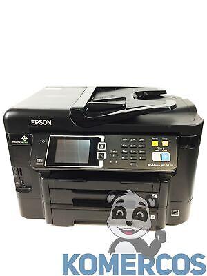 """EPSON WORKFORCE WF-3640 AIO Printer  Low Ink Levels """"A"""", usado segunda mano  Embacar hacia Mexico"""
