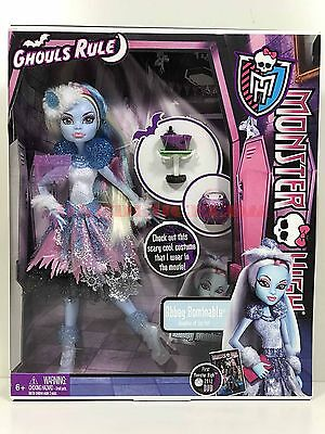 Monster High Doll Ghouls Rule Abbey Bominable Walmart Exclusive New Retired - Monster High Walmart