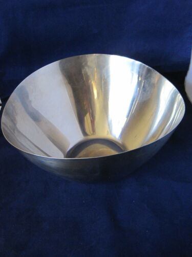 Wellington Stainless Steel Bowl Japan Mid Century Modern 10""