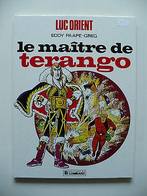RE 1984 (comme neuf) - Luc Orient 3 (le maître de Terango) - Paape & Greg