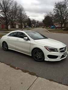 Benz CLA250 4matic Sports edition AMG wheels
