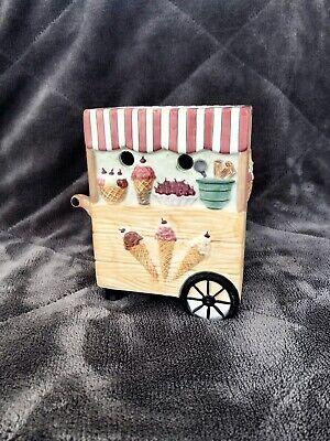 Yankee Candle Wax Warmer Tea Light Holder Icecream Cart Sweet Treats Summer
