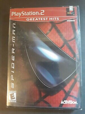 Spiderman PlayStation 2  PS2 Greatest Hits Brand New Factory Sealed