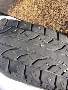 """17"""" LT tires x 4 for sale $75 in Elkford"""