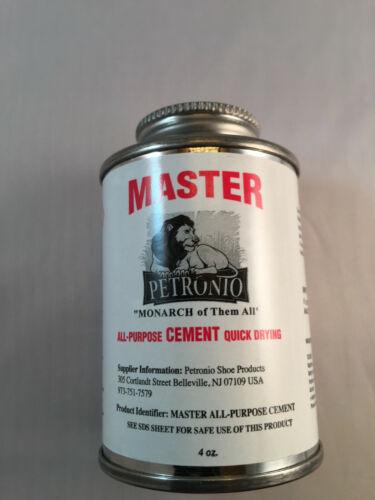 Master All Purpose Cement 4oz Brush in Can - Shoe Repair Cement- Shoe Glue