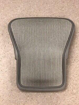 Herman Miller Aeron Seat Back Size B With Mesh Light Gray Frame  Mesh