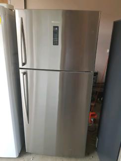 Large Hisense Fridge Freezer Stainless Steel ( 526 litres )