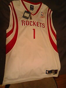 New Tracy McGrady Houston Rockets jersey stitched