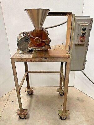 Mikro Samplmill Pulverizer Serial 8998 3 Phase - 2 Hp Motor