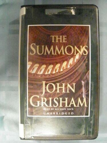 The Summons (John Grisham) Grisham, John Audio Cassette
