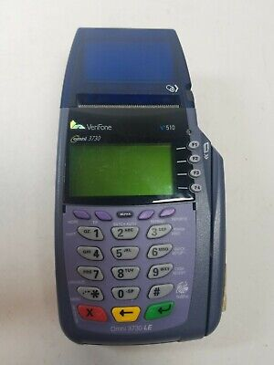 Verifone Credit Card Terminal Vx510 Omni 3730 Le 5100 Only Ah