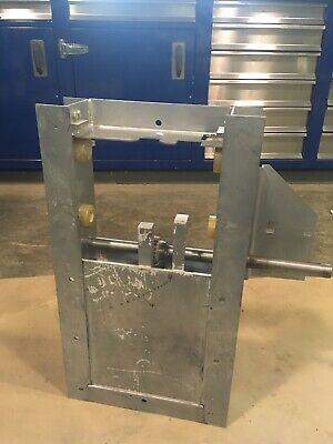 Slide Gate 10 X 10 Grain Bin Floor Rack N Pinion Motor