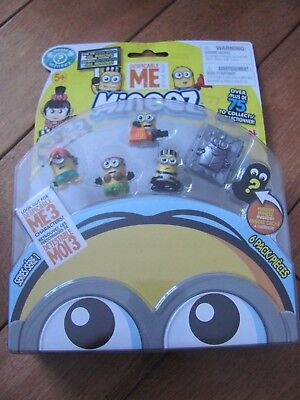 Mineez Despicable Me 6 Pack w/ Ball n Chain Jail and Frozen Dr Nefario NEW](Ball And Chain Movie)