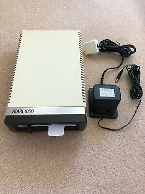 "ATARI 1050 800/XL/XE floppy 5.25"" Disk Drive Tested/Working with Power Cable"